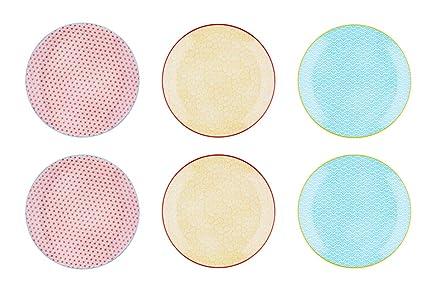 meilleures offres sur 74c83 f79de Bjorn Assiette Plate Ø26cm - 6 pièces - Collection Color