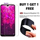 WOW Imagine (Pack of 2) Unbreakable Nano Film Glass [ Flexible Like a Screen Guard, Harder Than a Tempered Glass ] Screen Protector for Xiaomi Redmi Y3