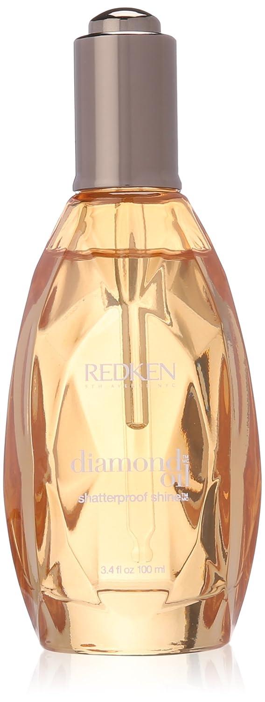 Diamond Oil Shatterproof Shine Silicone Free For Medium Hair by Redken for Unisex - 3.4 oz Oil treatment 0884486112064 RDK704501_-100ml
