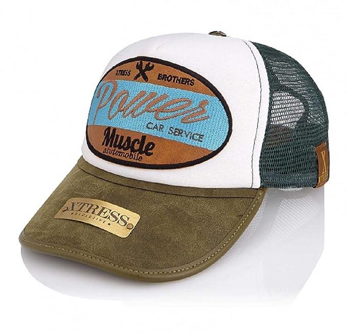 Xtress Exclusive Gorra blanca y verde para hombre y mujer.: Amazon.es: Ropa y accesorios
