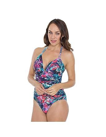 3059f4753d2 Seaspray SY007049 Women s Multicolour Motif Costume One Piece Swimsuit 6
