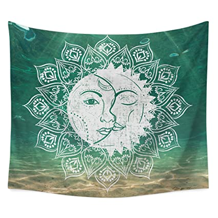 Amazon.com: sun blinkers Wall Hanging Tapestry Throw Bedding Beach ...