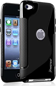 Insten TPU Case Ultra Thin Skin Cover Compatible with iPod Touch 4th Gen 4G 4 Generation, Black