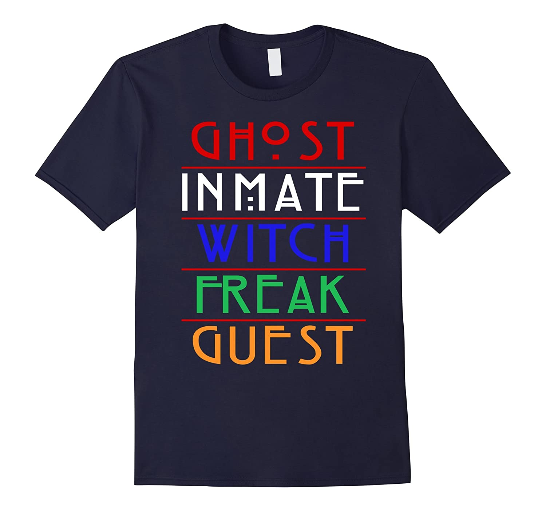 AHS Shirt - Ghost, Inmate, Witch, Freak, Guest-Art