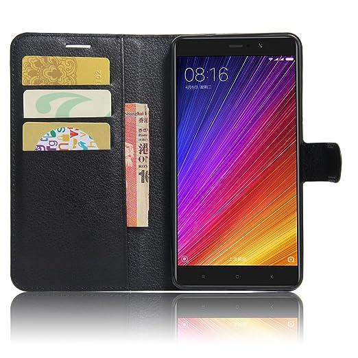 """2 opinioni per Xiaomi Mi5S Plus Custodia, SMTR Xiaomi Mi5S Plus (5.7"""") Wallet Case Cover"""