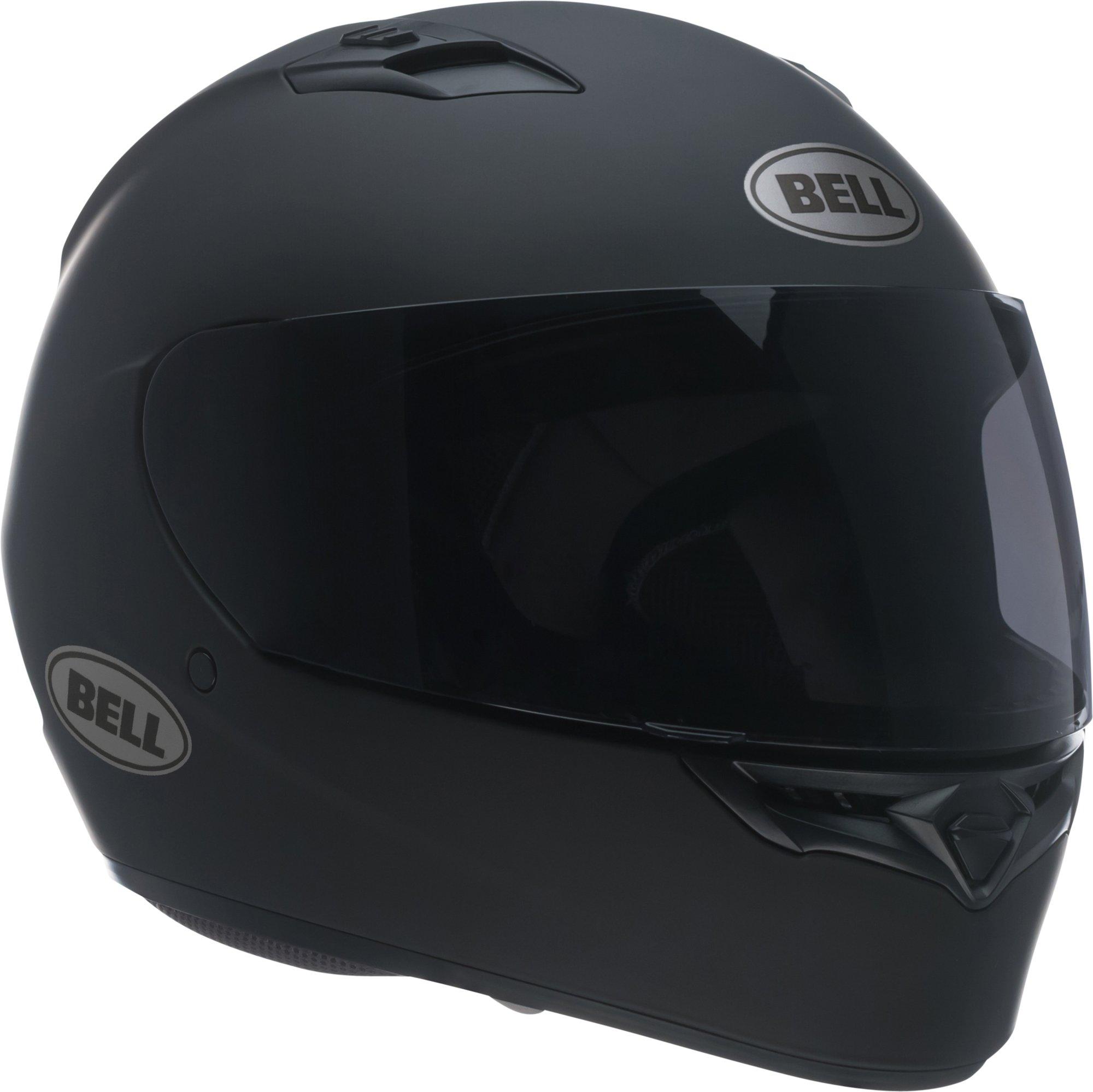 Bell Unisex Adult Solid Matte Black Qualifier Full Face Helmet 7049223