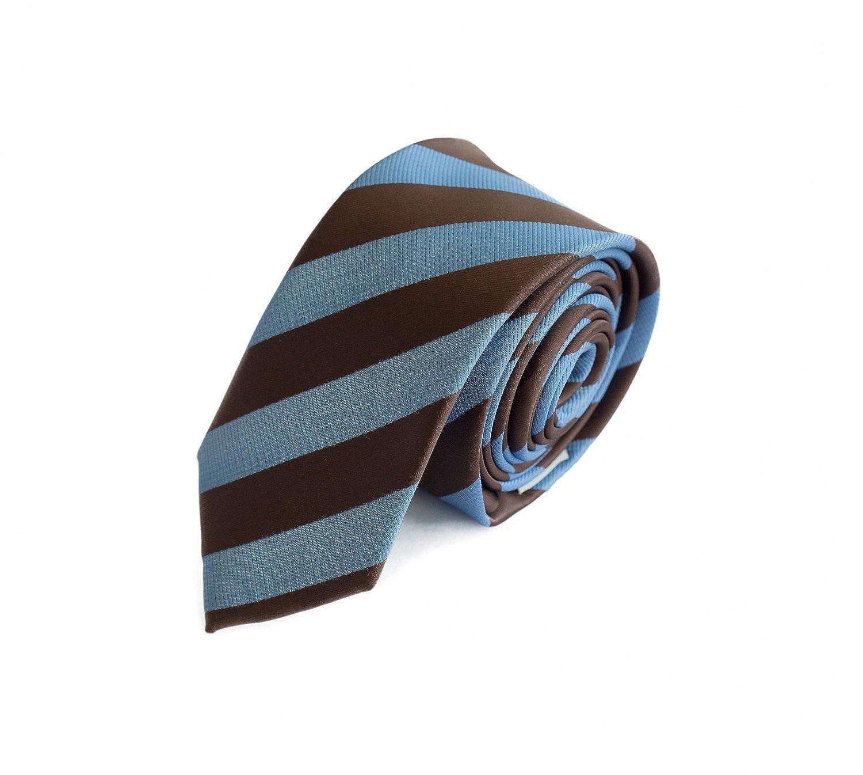 Fabio Farini gestreifte Krawatte in 6cm Breite in verschiedenen Farben fü r Bü ro Verein Hochzeit Weihnachten 1000428