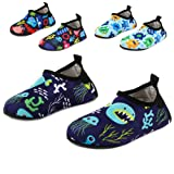 Amazon Price History for:Yidomto Kids Water Shoes, Quick Dry Barefoot Socks for Toddler Boys & Girls on Beach Swim Pool
