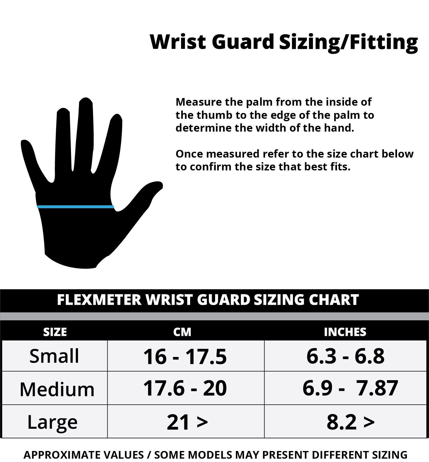 Flexmeter Wrist Guard Single Sided Size Large