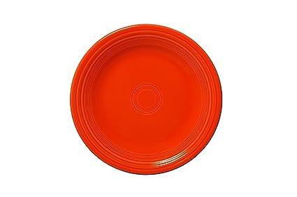 Amazon.com | Fiesta Dinner Plate, 10-1/2-Inch, Poppy: Dinner Plates