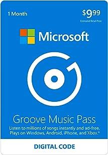 Amazon com: Microsoft Groove Music Pass - 1 Month - Xbox 360