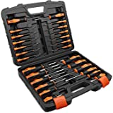 TACKLIFE Magnetic Screwdriver Set, 26PCS Professional Screwdriver Set with Case Includes Slotted/Phillips/Torx Precision…