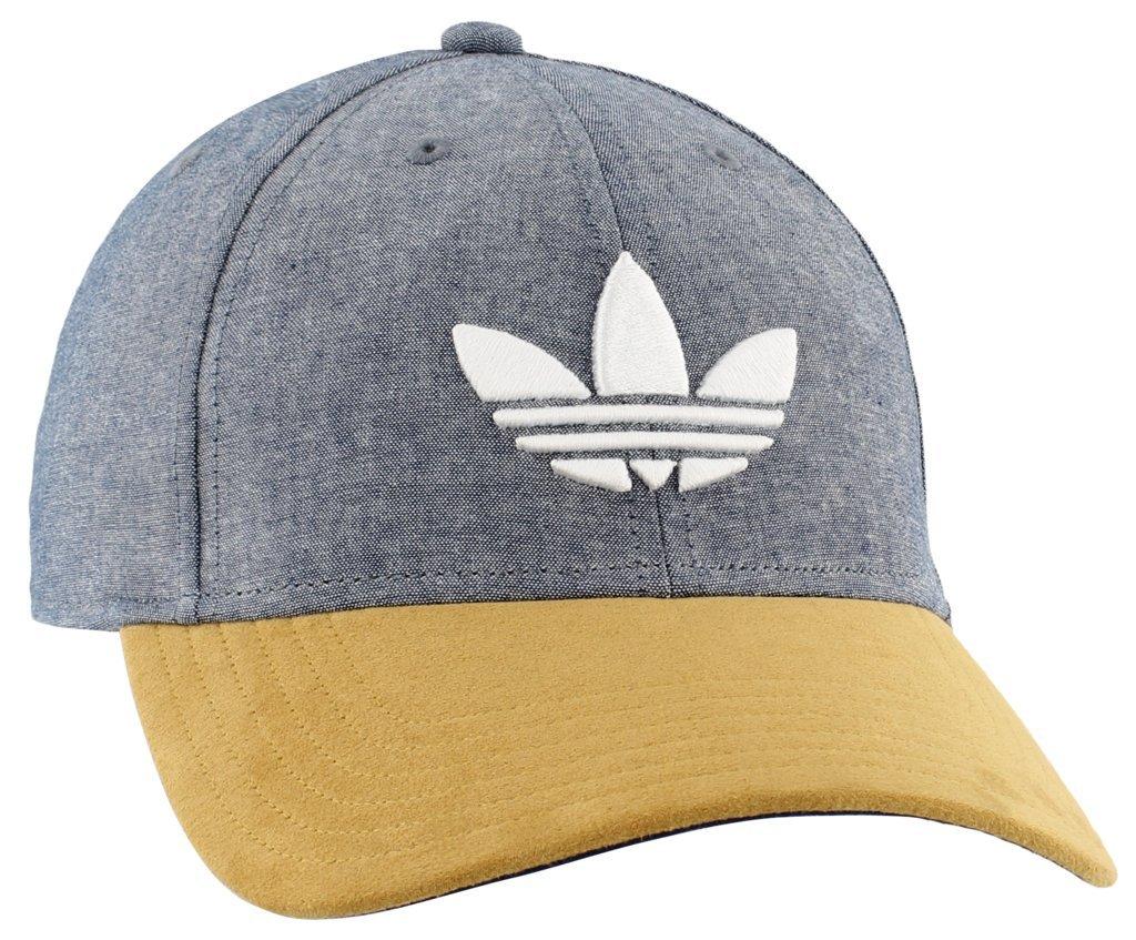 2ea9b680d20 adidas Mens Originals Trefoil Plus Precurve Agron Hats   Accessories 976041  Sports   Outdoors