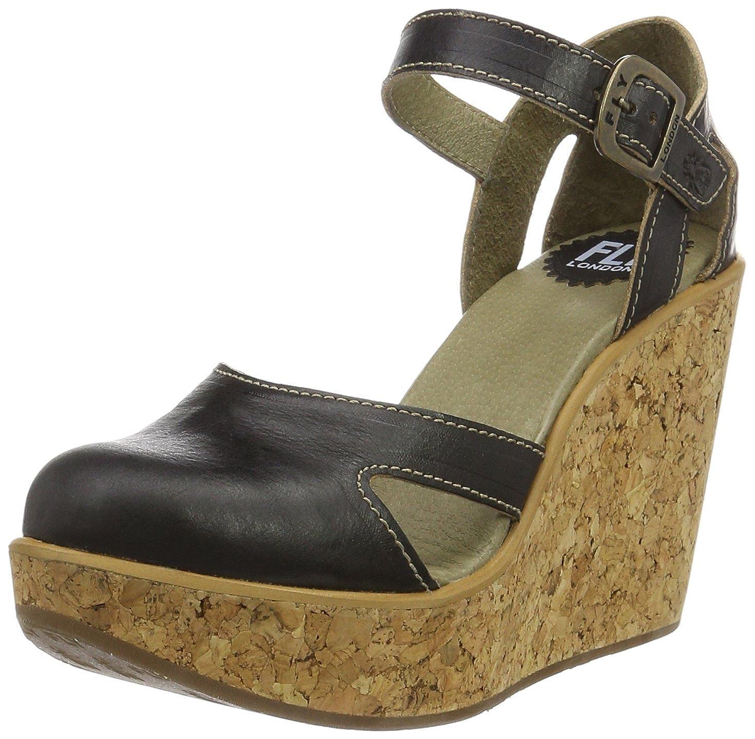 Fly London P143931003, Zapatos de Cuñas Mujer