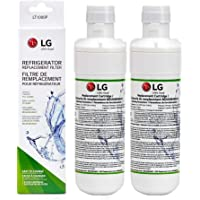 LT1000P Refrigerator Water Filter Replacement for LG LT1000P, LT1000PC, LT-1000PC MDJ64844601(2-Pack)(Packaging May Vary)