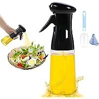 LHOTSE Botella pulverizadora de aceite, pulverizador de aceite para el cabello, aceite de oliva y rociador de aceite de…