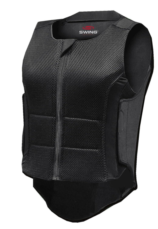 Rückenprotector Swing P07 mit optimalen Tragekomfort Gr. L für Erwachsene, 360 Grad Schutz für Wirbelsäule und Steißbein EN1621-Level 2 Norm