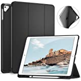 Ztotop Case for iPad Pro 12.9 Inch 2017/2015 with Pencil Holder,Lightweight Soft TPU Back Cover and Trifold Stand with…