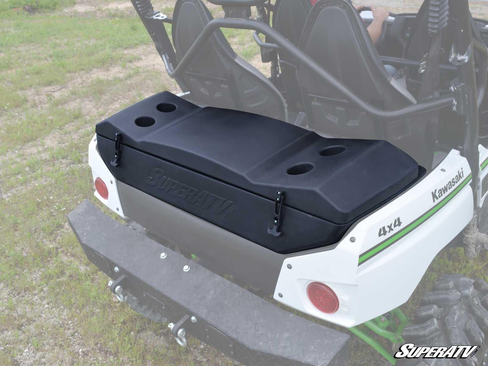2012-2016 Kawasaki Teryx 4 Dual Compartment Cooler/Cargo Box by Super ATV RCB-K-TRX4-30