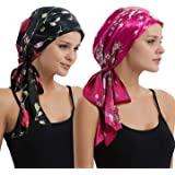 EINSKEY Head Scarf Cap Turban Headwear for Chemo Cancer Hair Loss - Many Styles