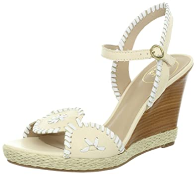 f9dc8d36d29f Jack Rogers Women s Clare Wedge Sandal