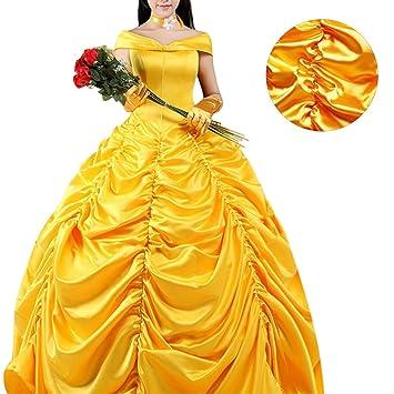 Prinzessin Kleid Kostüm Halloween Kostüm für Schöne und das Biest ...