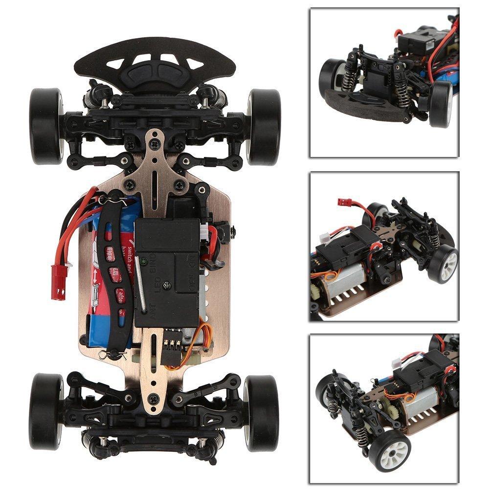 VVinRC WLtoys A252 1//24 2.4G Electric Brushed 4WD RTR RC Drift Car