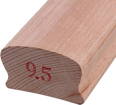 Yibuy - Taco radiado de madera para nivelado de trastes y diapasón ...