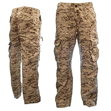 Mens Sizeups Cargo Pants - 100% Cotton Premium Plus-Size Tough ...