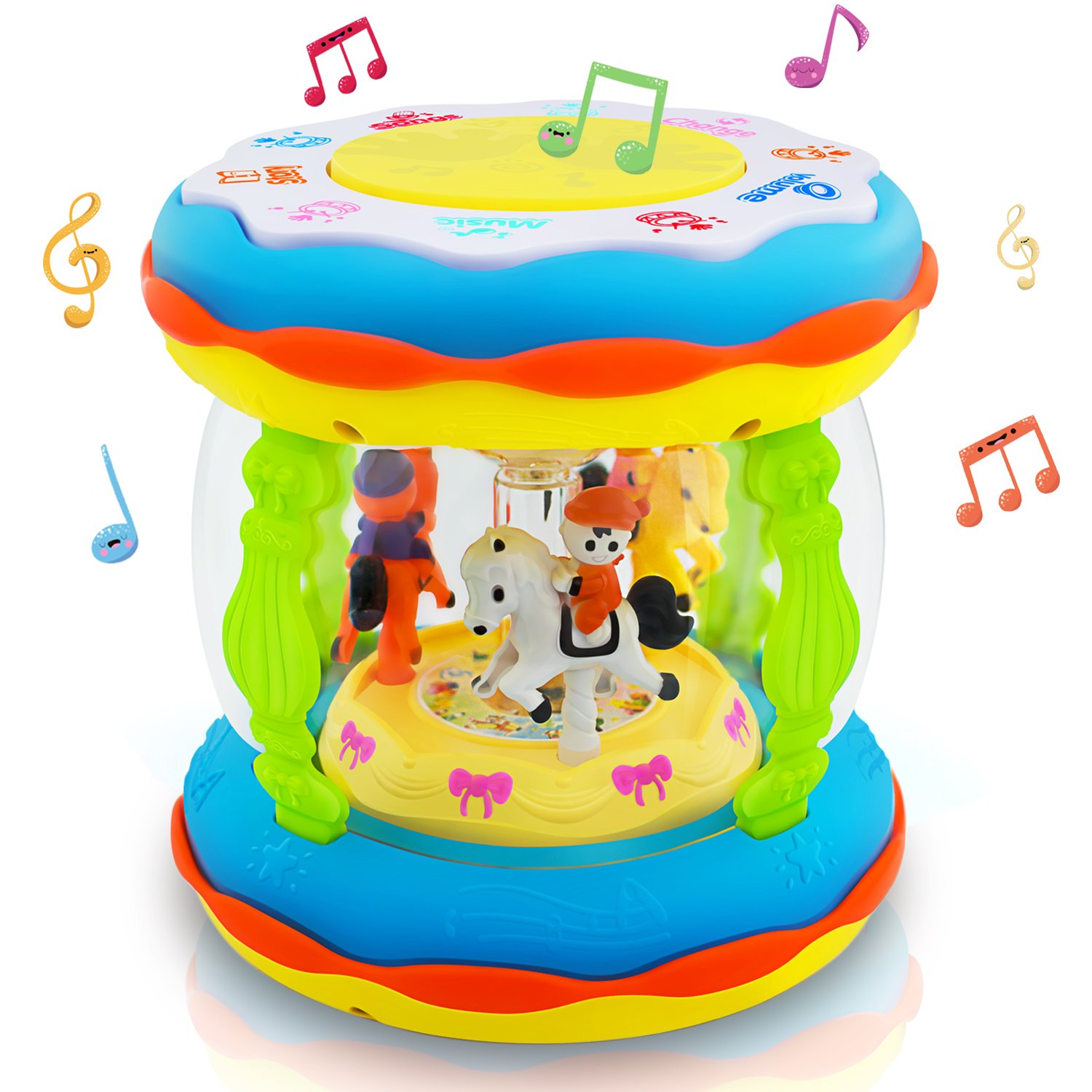HXSNEW Toddler and Baby Musical Toys, Learning Toys for 1-3 Year Old Boys and Girls