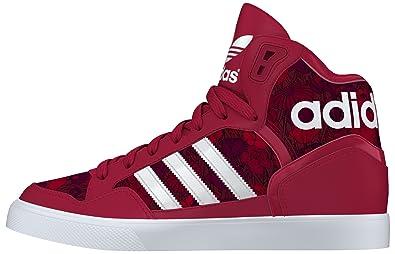 on sale eabaa 3b4de adidas Damen Extaball W Turnschuhe, Rojo (Rojfue  Ftwbla  Tintec), 42