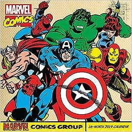 Marvel Calendar 2019 Retro Marvel Comics Wall Calendar (2019): Day Dream: 9781635712759