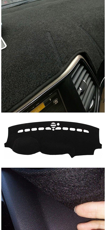 Nicebee Dash Mat Pad Sun Shade Dash Board Cover Carpet Dashboard Cover Pad For Jeep Grand Cherokee 2011-2016