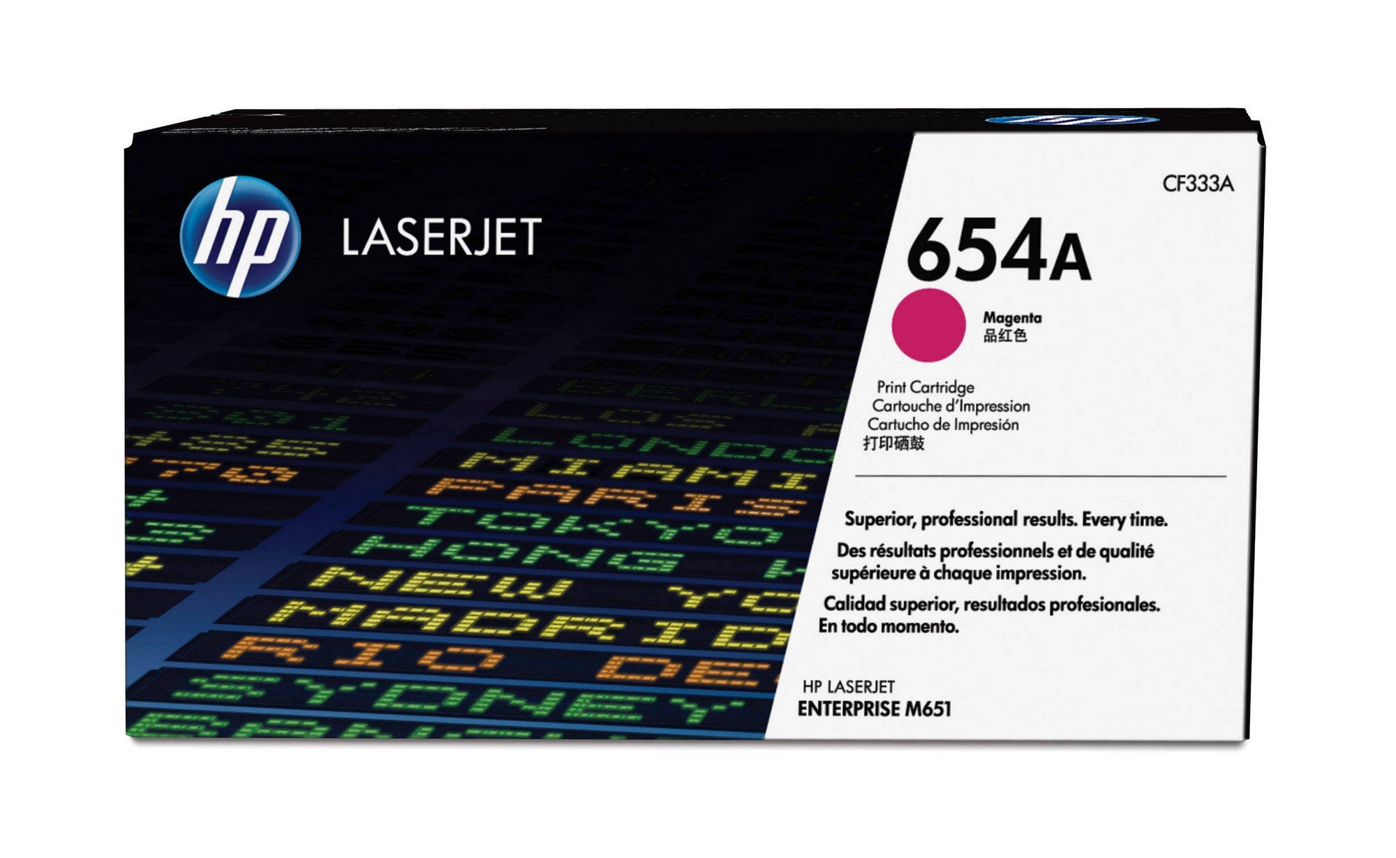 HP 654A (CF333A) Magenta Original Toner Cartridge
