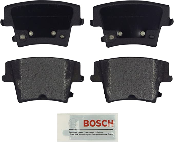 Amazon.com: Bosch BE1057A Blue Disc Brake Pad Set for Select Chrysler 300 and Dodge Challenger, Charger, and Magnum - REAR: Automotive