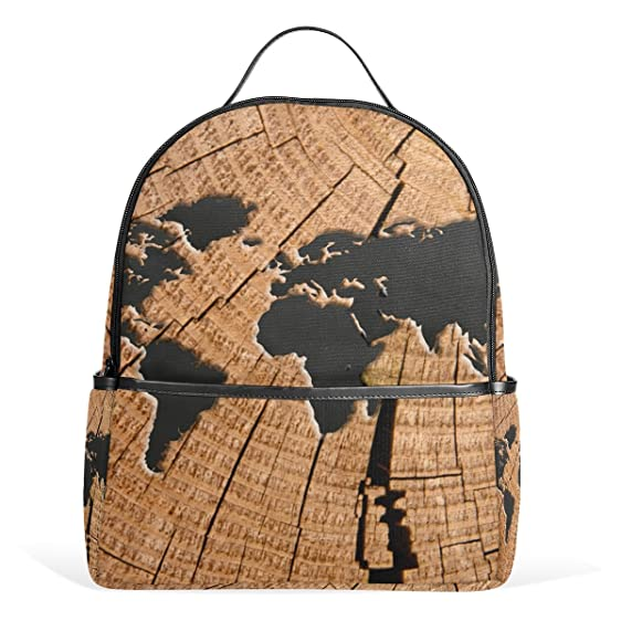 Coosun world map school backpacks bookbags for boys girls teens coosun world map school backpacks bookbags for boys girls teens kids gumiabroncs Images