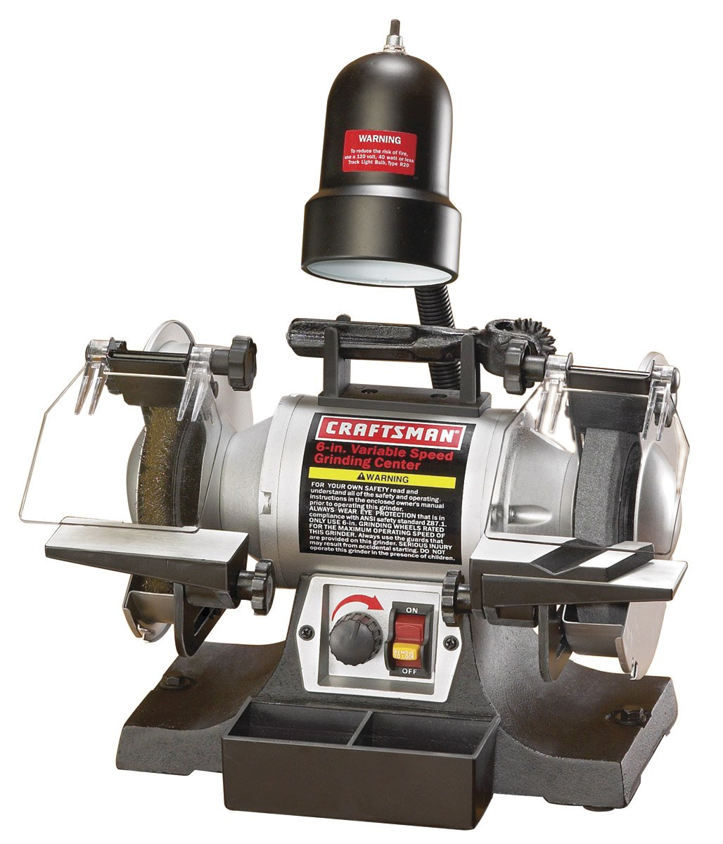 CRAFTSMAN 921154 6'' Variable Speed Grinding Center