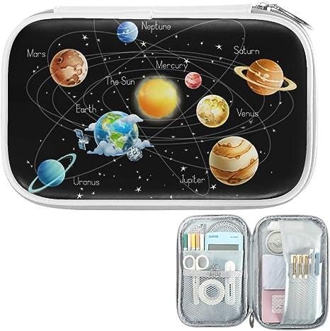 Spaceship Pencil Case Solar System Pencil Case