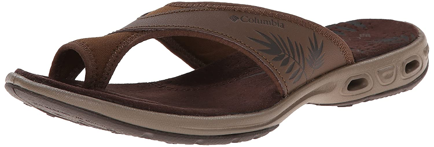 Columbia Women's Kea Vent Sandal B00KWKHRMW 6 M US|Dark Brown, Hawk