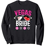 Vegas Wedding Bride - Married in Vegas - Bride Squad Sweatshirt