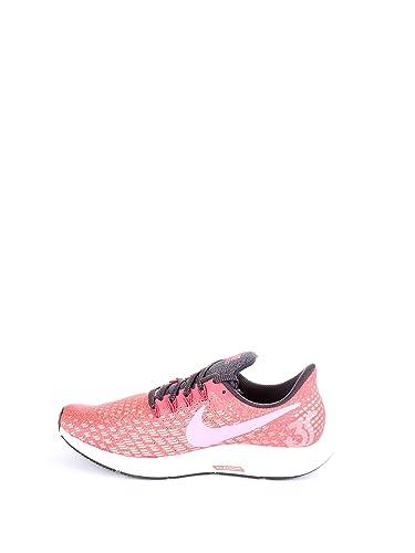 f3dc0f92644 Nike Women s Air Zoom Pegasus 35 Ember Glow Pshchic Pink Oil Grey Crimson