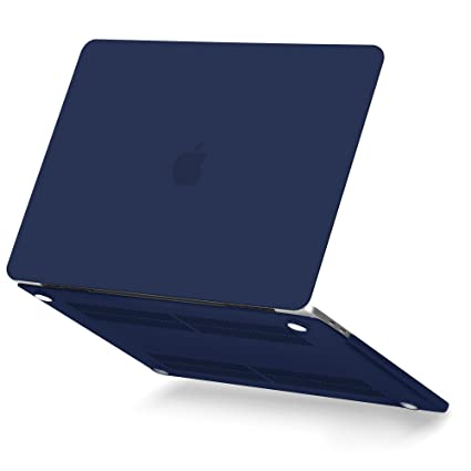 new arrival 5c8b8 3da99 MacBook Pro Touch Bar 15 A1990/A1707 (2016, 2017, 2018 Release) Case, GMYLE  Hard Plastic Shell Matte Cover for New Apple Mac Pro 15 Inch – Navy Blue