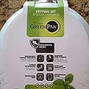 Amazon Com Greenpan Padova 8 Quot And 10 Quot Ceramic Non Stick