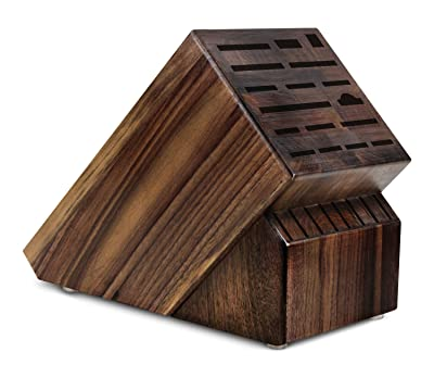 Cutlery and More 25-slot Walnut Universal Knife Block
