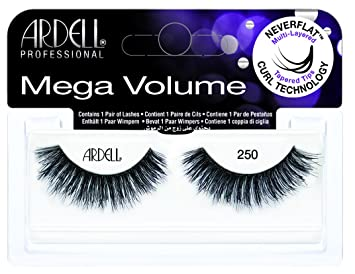 1d4fc655210 Amazon.com : 3D Mega Volume #250 Lashes : Beauty