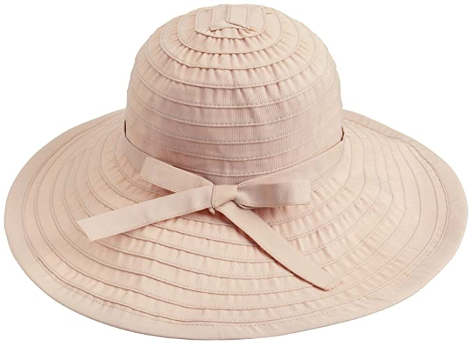 9f2088d1a3b Simplicity Womens Sun Hat Summer UPF 50+ Roll Up Floppy Beach Hat Beige