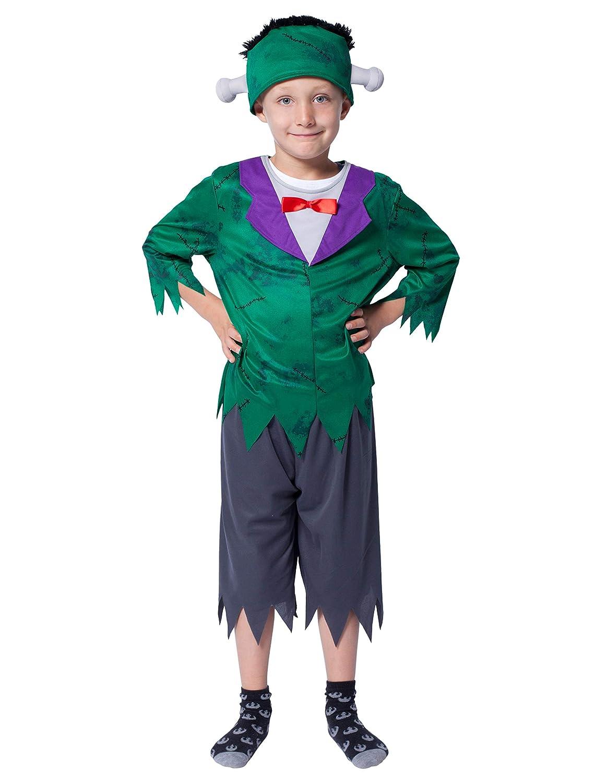 Wilbers Disfraz de Frankenstein para niño: Amazon.es: Juguetes y ...