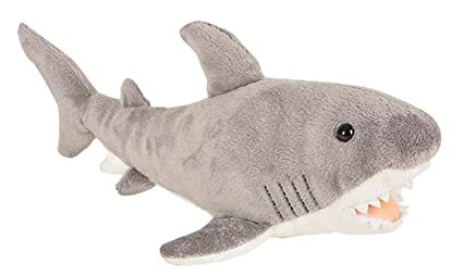 "Wildlife Tree 14"" Great White Shark Stuffed Animal Plush Floppy Ocean Species Collection by Wildlife Tree"