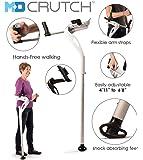 Mobility Designed Hands-free Ergonomic Crutch Left - White