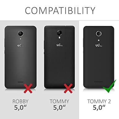 Amazon.com: kwmobile Crystal Case for Wiko Tommy 2 - Soft ...